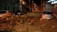 Tote bei Unwettern auf Sizilien