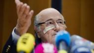 """""""Ich werde wiederkommen"""": Joseph Blatter"""