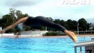 Einmal schwimmen wie Michael Phelps