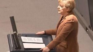 Merkel sieht Deutschland als Profiteur des Euro