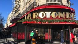 """Pariser Traditionsrestaurant """"La Rotonde"""" durch Brand stark beschädigt"""