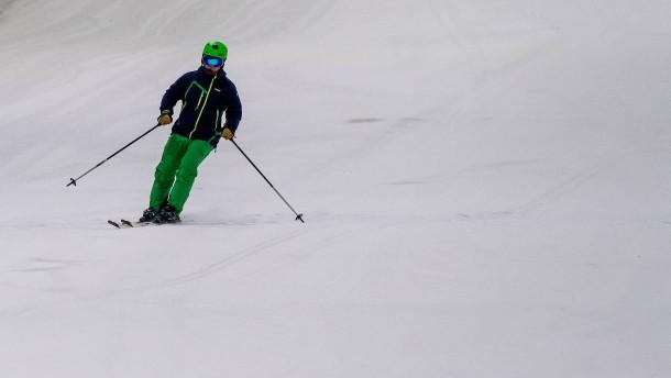 Still ruht der Ski