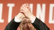 Höhenflug: Martin Schulz' Nominierung hat der SPD einen gehörigen Sympathiebonus beschert.