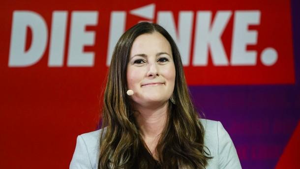 Wissler zur Spitzenkandidatin der hessischen Linken gewählt