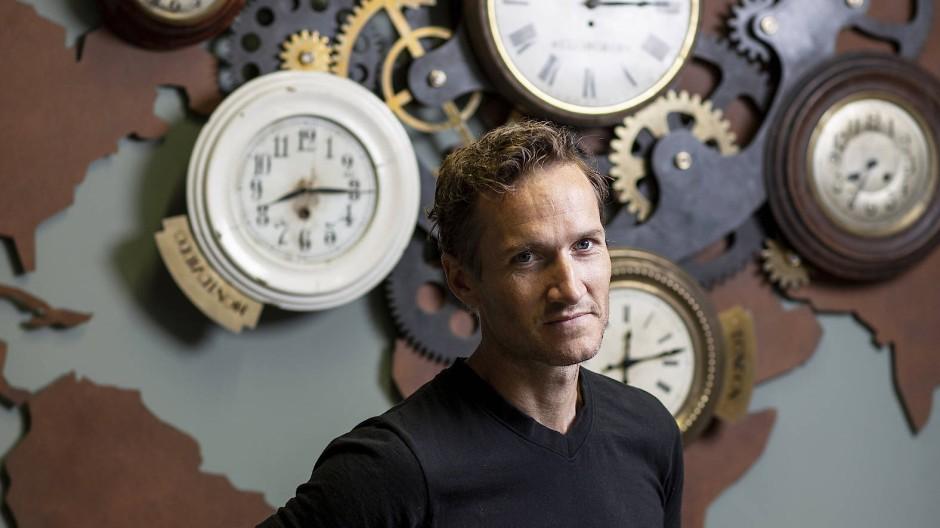 Niklas Östberg, CEO von Delivery Hero, fotografiert 2019 in Räumen der Firma in Berlin