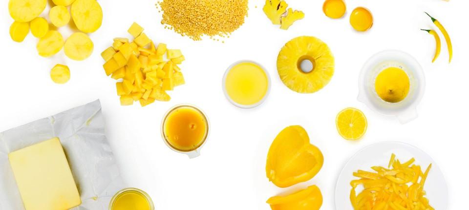 Kochen Nach Farben: Gelb Schmeckt Fröhlich