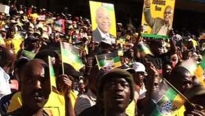 Zuma am Ziel