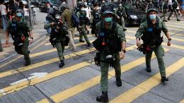 Demonstrationen in Hongkong reißen nicht ab