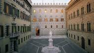 Schöne Aussichten, von außen zumindest: Die Bank Monte dei Paschi di Siena im italienischen Siena