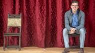 Facharbeiter im Weinberg des Humors: Schon in der Schulzeit hat Rainer Ewerrien hauptsächlich in komischen Rollen geglänzt.