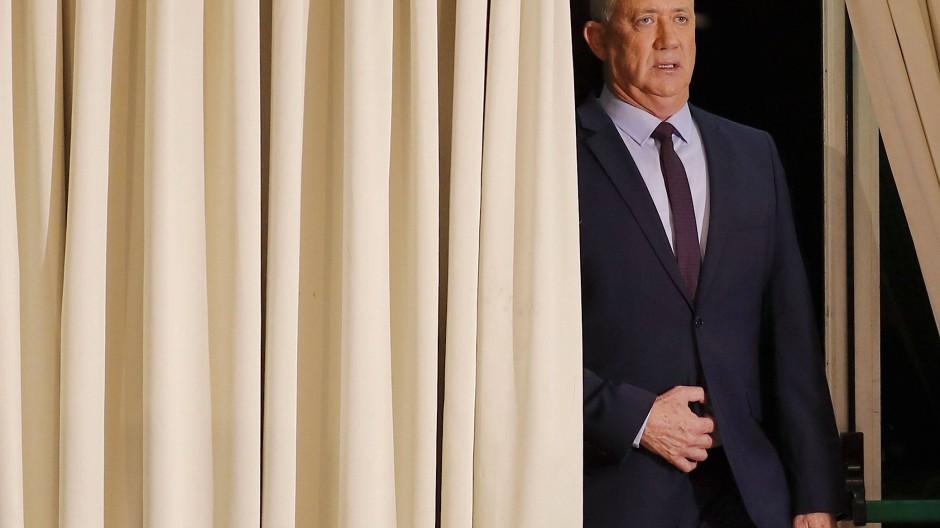 Benny Gantz zum Parlamentspräsidenten gewählt