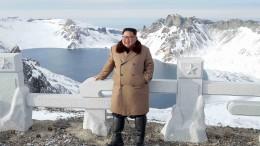 Kein Handschlag mit Diktator Kim