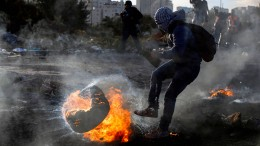 Weitere Proteste von Palästinensern gegen Trump