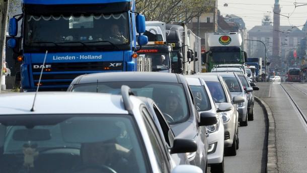 Droht Darmstadt Diesel-Fahrverbot?