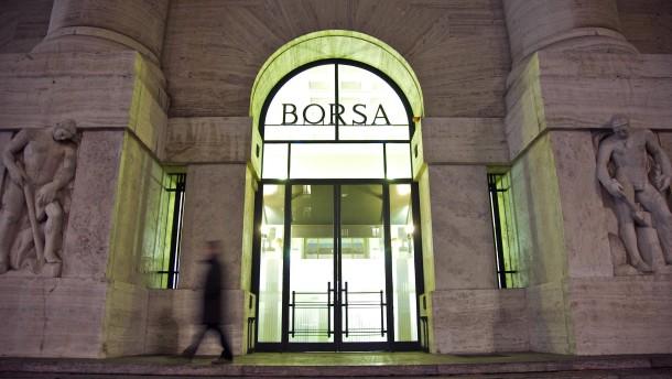 Rückzug von der Börse in Mailand