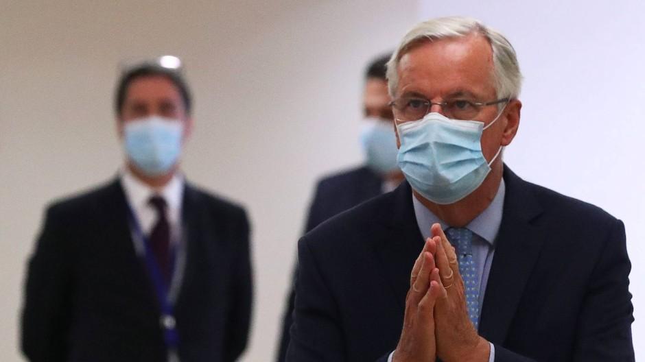 EU-Unterhändler Michel Barnier bleibt immer weniger Spielraum für Kompromisse.