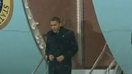 Obama landet in Kopenhagen