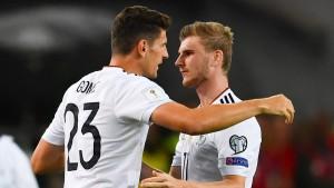 Deutschland stürmt wohl mit Gomez und Werner