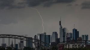 Heftige Unwetter in Hessen erwartet