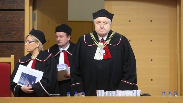 Polens Verfassungsgericht nicht rechtens besetzt
