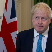 Der britische Premierminister Boris Johnson gibt eine Erklärung zum Brexit und den Verhandlungen mit der EU ab.