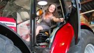 Niederländerin fährt mit Trecker zum Südpol