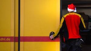 Der Weihnachtsmann kommt mit Auspuff