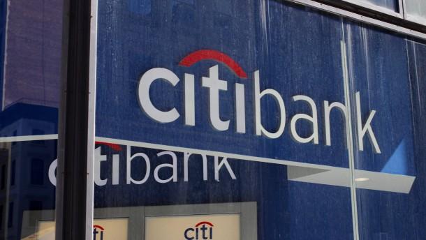 Die Citigroup verlässt 13 Länder