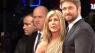 """Traumpaar Aniston-Butler stellt """"Der Kautions-Cop"""" vor"""
