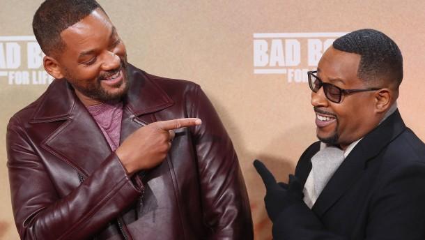 Will Smith und Martin Lawrence bei berliner Premiere