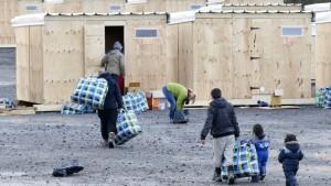 Neues Flüchtlingslager eröffnet