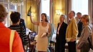 Unterwegs mit gutem Tropfen: Astrid von Luxburg im Hessischen Hof