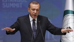 Erdogan ist gegen die islamische Verfassung