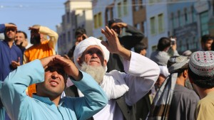 Taliban hängen Leichen von vier Entführern auf