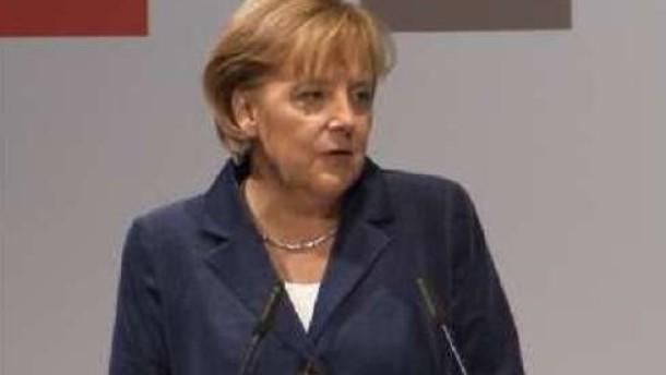 """Merkel: Einheit """"noch nicht vollendet"""""""