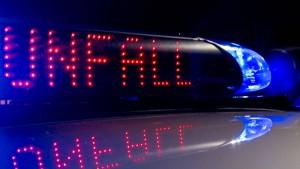 A3: Unfall mit drei Verletzten