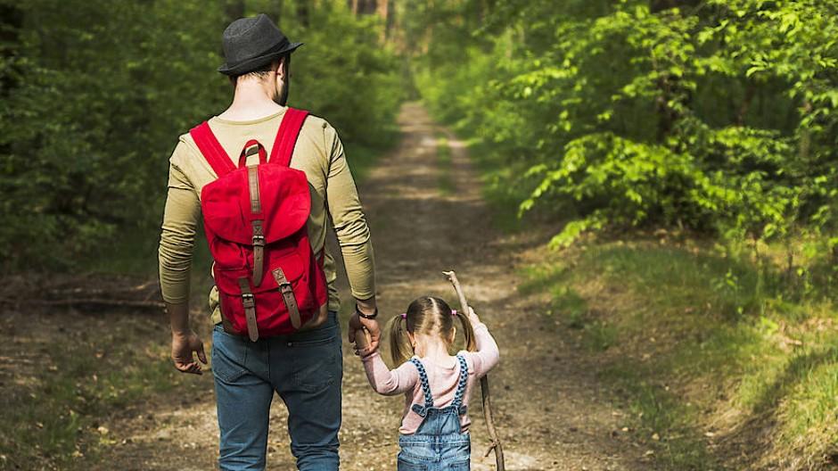 Kinder wandern gerne, aber man darf sie nicht überfordern.