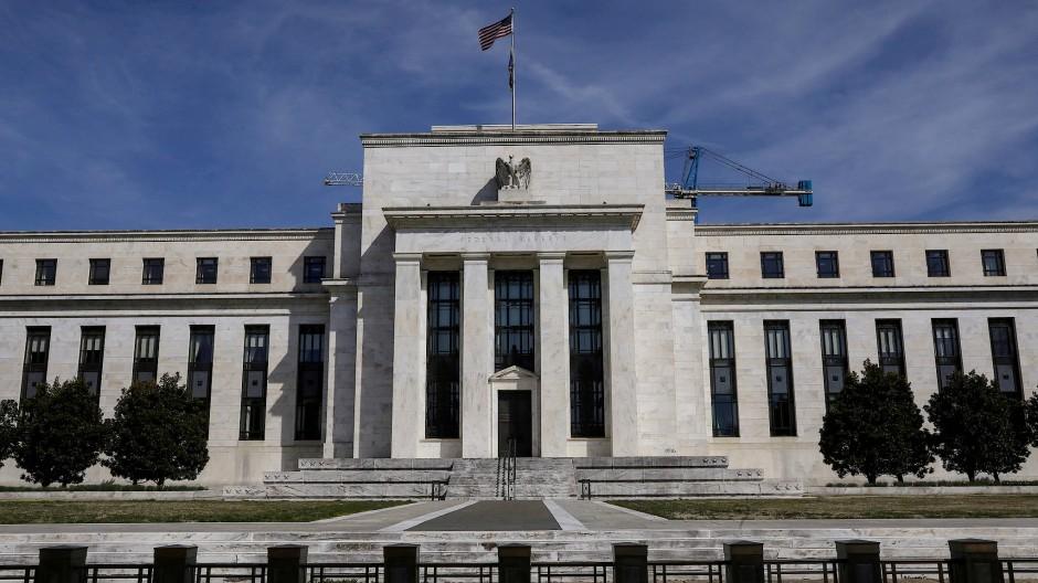 Im Fokus: die amerikanische Notenbank Federal Reserve in Washington