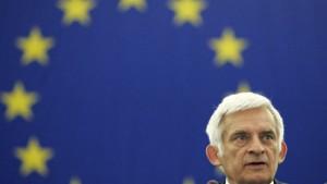 Pole Buzek mit großer Mehrheit gewählt