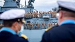 Taiwan lobt Entsendung von deutschem Kriegsschifff