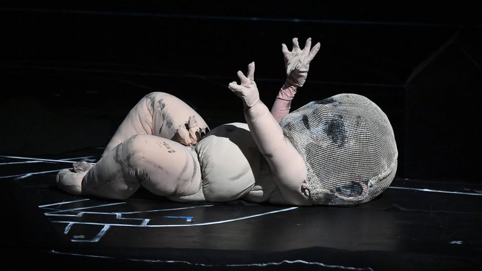 """Ganz schön schaurig: Fotoprobe zur Oper """"Oedipe"""" von George Enescu"""
