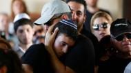 Nach dem Anschlag in Tel Aviv: Es herrschen Trauer, Angst und Wut.