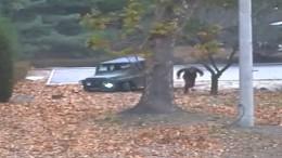 Fluchtvideo eines nordkoreanischen Soldaten