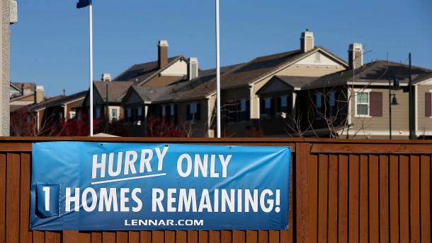 Auf Amerikas Häusermarkt kehrt die Spekulation zurück
