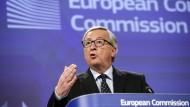 Misstrauensantrag gegen Juncker scheitert