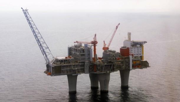 Toter und Verletzte auf Bohrinsel in der Nordsee