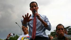 Venezuelas Oppositionschef Guaidó für politische Ämter gesperrt