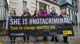 Irisches Parlament legalisiert Abtreibungen