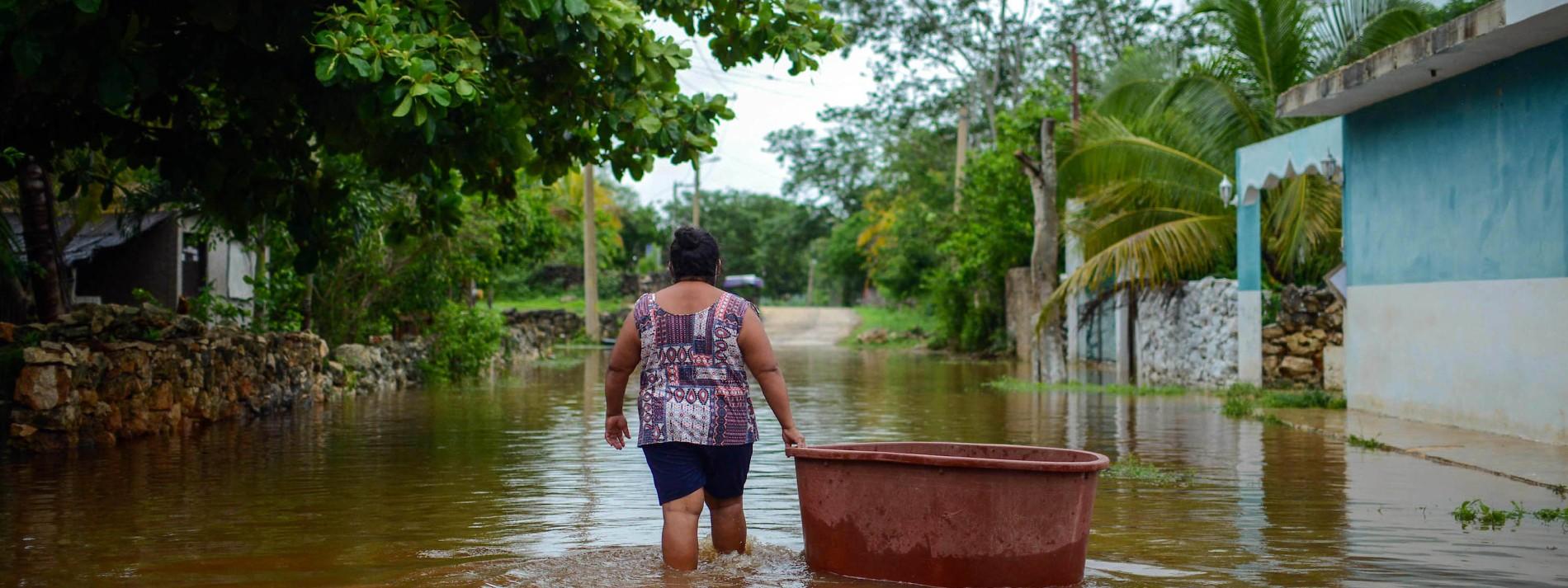 Mindestens 30 Tote durch Tropenstürme im Atlantik