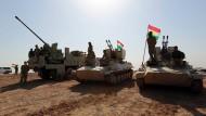 """""""Wir sind bereit"""": Der irakische Regierungschef stellt sich auf einen Zusammenstoß mit türkischen Militärs ein."""